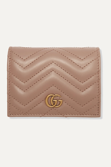 GUCCI - GG MARMONT SMALL QUILTED LEATHER WALLET
